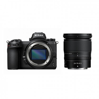 Nikon Z6 + NIKKOR Z 24-70mm f/4 S Kit MENU IN LINGUA ITALIANA + GARANZIA 2 ANNI ASSISTENZA IN ITALIA +