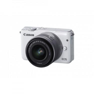Canon EOS M10 + 15-45mm White + GARANZIA 2 ANNI ASSISTENZA IN ITALIA +