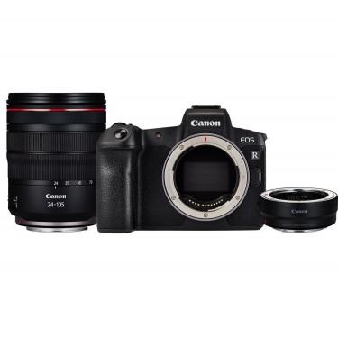 Canon EOS RP + RF 24-105 f/4L IS USM + ADAPTER  + GARANZIA 2 ANNI ASSISTENZA IN ITALIA +
