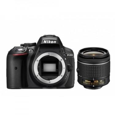 Nikon D5300 + AF-P 18-55 VR + GARANZIA 2 ANNI ASSISTENZA IN ITALIA +