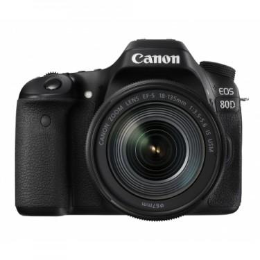 Canon EOS 80D + 18-135 IS USM ++ GARANZIA 2 ANNI EUROPA ++