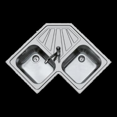 Lavello serie angolo due vasche 3307060