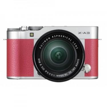 Fujifilm X-A3 + 16-50 Pink + GARANZIA 2 ANNI ASSISTENZA IN ITALIA +