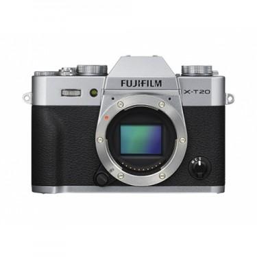 Fujifilm X-T20 Body Silver + GARANZIA 2 ANNI ASSISTENZA IN ITALIA +
