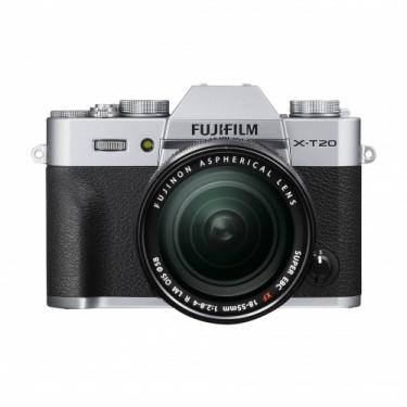 Fujifilm X-T20 + 18-55 Silver + GARANZIA 2 ANNI ASSISTENZA IN ITALIA +