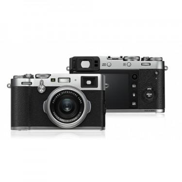 Fujifilm FinePix X100F Silver + GARANZIA 2 ANNI ASSISTENZA IN ITALIA +