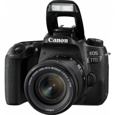 Canon EOS 77D + 18-55 STM + GARANZIA 2 ANNI ASSISTENZA IN ITALIA +