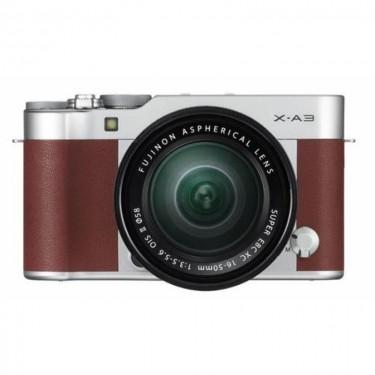 Fujifilm X-A10 + 16-50 Brown + GARANZIA 2 ANNI ASSISTENZA IN ITALIA +