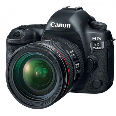 Canon EOS 5D Mark IV + 24-70mm f/4L IS USM + GARANZIA 2 ANNI ASSISTENZA IN ITALIA +