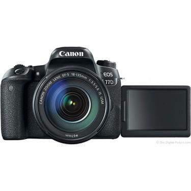 Fotocamera Eos 77D + 18-135mm 3.5-5.6 IS USM ++ GARANZIA 2 ANNI EUROPA  ++