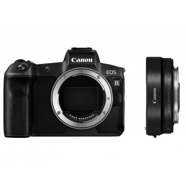 Canon EOS R BODY + Adapter  NEW  + GARANZIA 2 ANNI ASSISTENZA IN ITALIA +