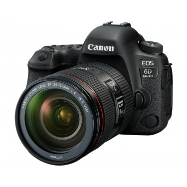 Fotocamera Eos 6D Mark II Kit (24-105mm f/4L IS II USM) + GARANZIA 2 ANNI ASSISTENZA IN ITALIA +