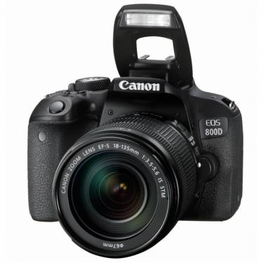Canon EOS 800D + 18-135mm STM + GARANZIA 2 ANNI ASSISTENZA IN ITALIA +