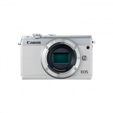 Canon EOS M100 Body kitbox White + GARANZIA 2 ANNI ASSISTENZA IN ITALIA +