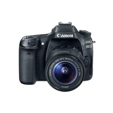 Fotocamera Eos 80D + 18-55 IS STM + GARANZIA 2 ANNI ASSISTENZA IN ITALIA +