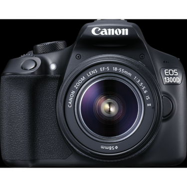 Canon EOS 1300D + EF-S 18-55mm f3.5-5.6 IS II + 55-250mm + GARANZIA 2 ANNI ASSISTENZA IN ITALIA +