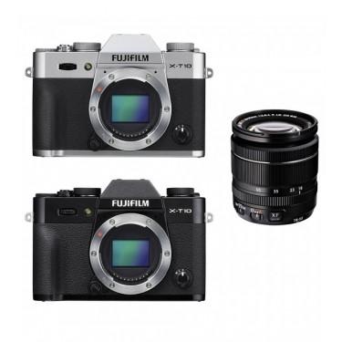 Fotocamera X-T10 + XF 18-55mm Black