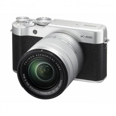 Fujifilm X-A10 + 16-50 Silver + GARANZIA 2 ANNI ASSISTENZA IN ITALIA +