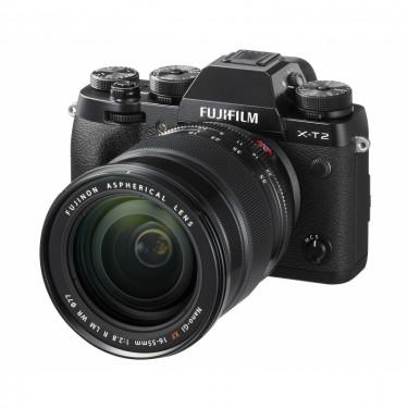 Fujifilm X-T2 + 18-55 Black + GARANZIA 2 ANNI ASSISTENZA IN ITALIA +