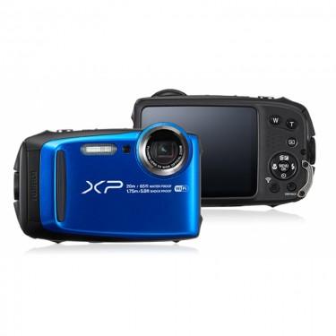 Fujifilm XP120 Blue + GARANZIA 2 ANNI ASSISTENZA IN ITALIA +
