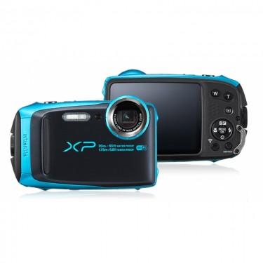 Fujifilm XP120 Skye Blue + GARANZIA 2 ANNI ASSISTENZA IN ITALIA +