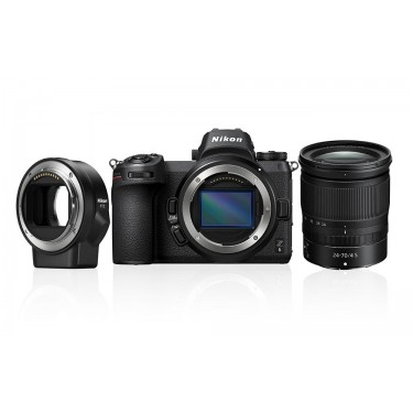Nikon Z6 + NIKKOR Z 24-70mm f/4 S Kit + FTZ Mount Adapter + GARANZIA 2 ANNI ASSISTENZA IN ITALIA +