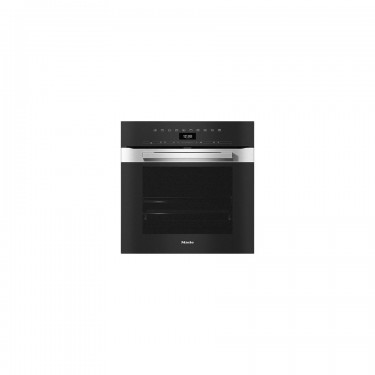 Forno H 7460 B in color acciao inox CleanSteel