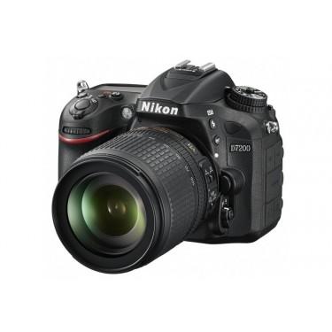 Fotocamera D7200 Body + Nikkor 18-105mm ED VR + GARANZIA 2 ANNI ASSISTENZA IN ITALIA +