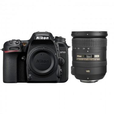 Nikon D7500 + 18-200 + GARANZIA 2 ANNI ASSISTENZA IN ITALIA +