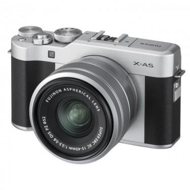 Fujifilm X-A5 + 15-45 Silver + GARANZIA 2 ANNI ASSISTENZA IN ITALIA +