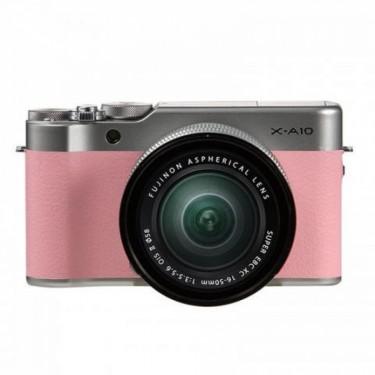 Fujifilm X-A10 + 16-50 Pink + GARANZIA 2 ANNI ASSISTENZA IN ITALIA +
