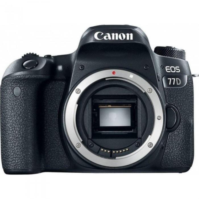 Canon EOS 77D Body + GARANZIA 2 ANNI ASSISTENZA IN ITALIA +