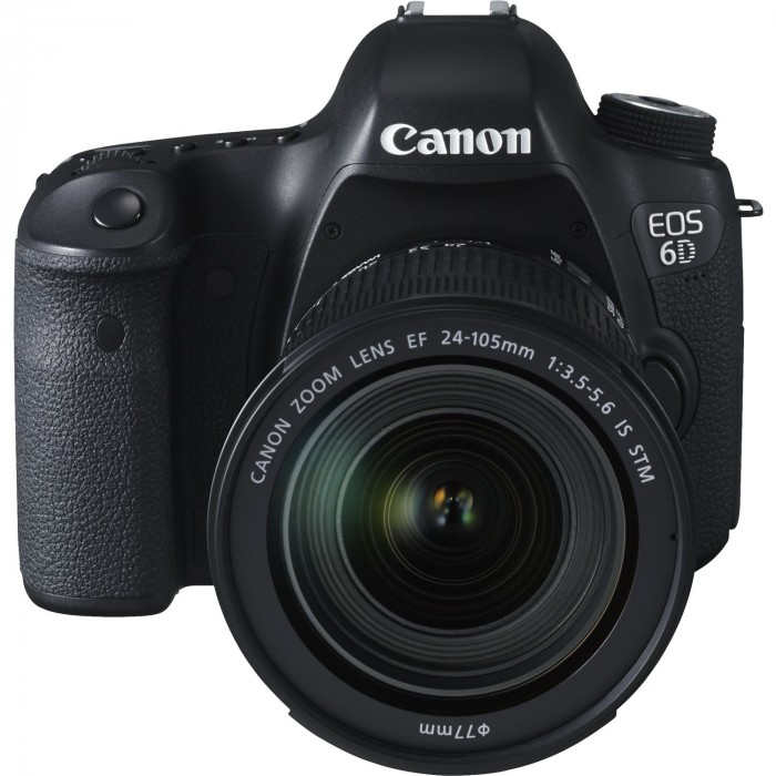 Fotocamera Eos 6D + 24-105mm F3.5-5-6 IS STM + GARANZIA 2 ANNI ASSISTENZA IN ITALIA +