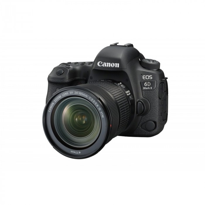 Fotocamera EOS 6D Mark II Kit (24-105 f/3.5-5.6 IS STM) + GARANZIA 2 ANNI ASSISTENZA IN ITALIA +