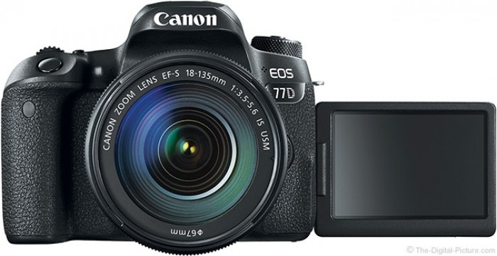 Fotocamera Eos 77D + 18-135mm 3.5-5.6 IS USM + GARANZIA 2 ANNI ASSISTENZA IN ITALIA +