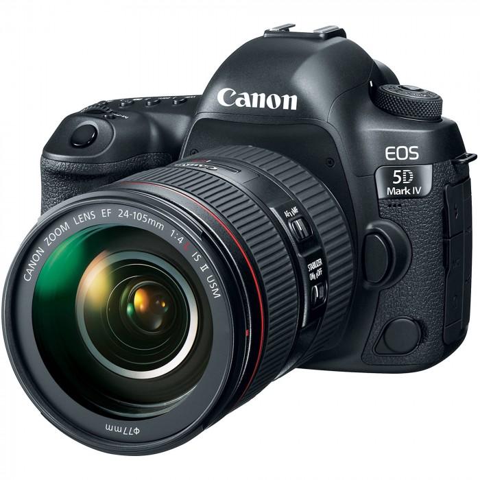 Fotocamera Eos 5D Mark IV Kit 24-105 f 4.0 L II IS USM + GARANZIA 2 ANNI ASSISTENZA IN ITALIA +