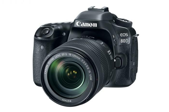 Fotocamera Eos 80D + 18-135mm IS Nano USM + GARANZIA 2 ANNI ASSISTENZA IN ITALIA +