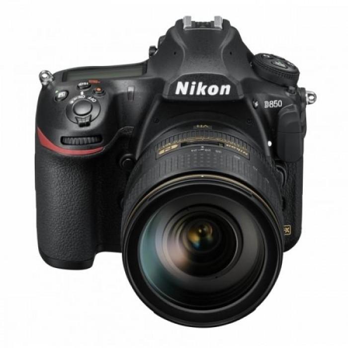 Fotocamera D850 kit 24-120mm + GARANZIA 2 ANNI ASSISTENZA IN ITALIA +