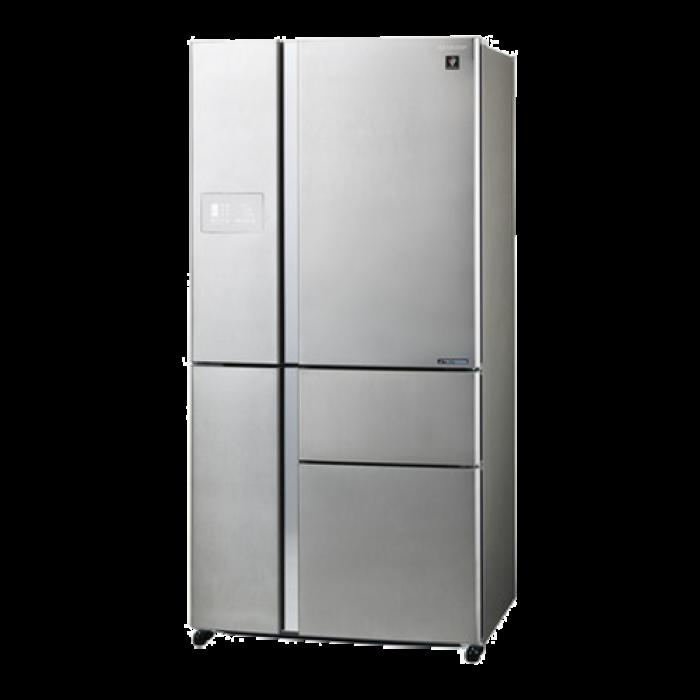 Sharp frigorifero 5 porte sjpx830fsl for Frigorifero 3 porte